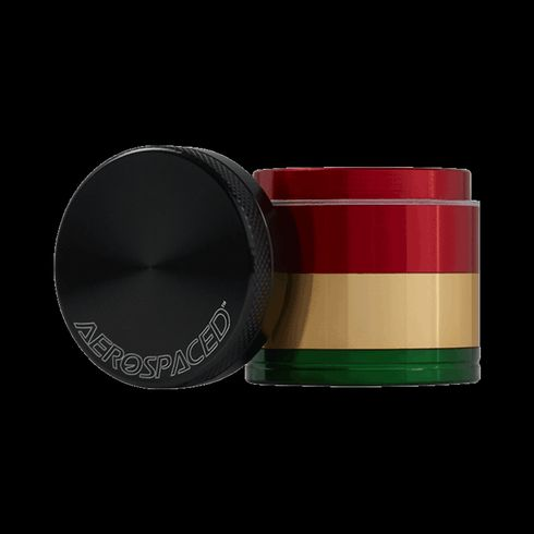 feature image 4 Piece Aerospaced Grinder/Sifter Rasta