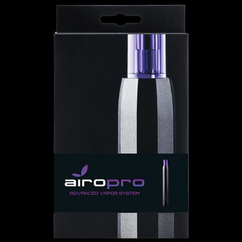 feature image AiroPro Vaporizer- Graphite with Carrying Case