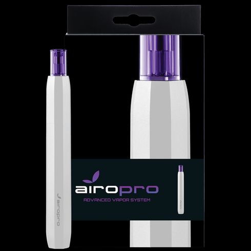feature image AiroPro Vaporizer- White with Carrying Case