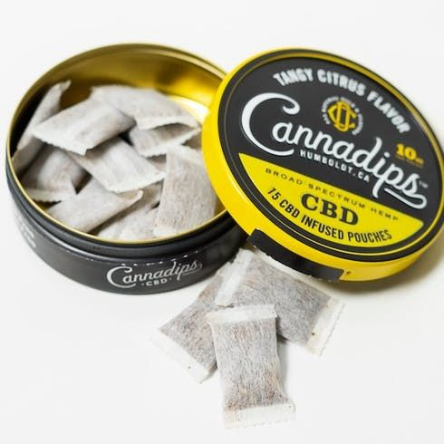 feature image Aether CannaDips - Tangy Citrus CBD 15pk