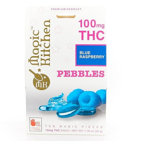 feature image 10pk Blue Raspberry Pebbles  by Magic Kitchen