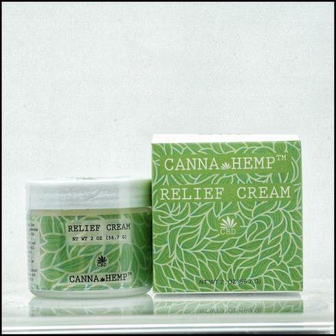 feature image Canna Hemp - Relief Cream CBD