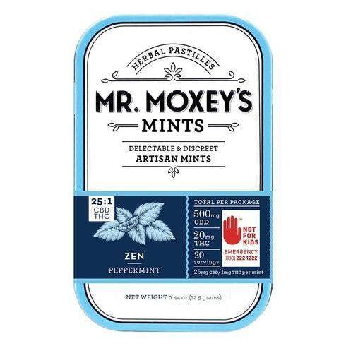 feature image 25:1 CBD Zen Peppermint Mints