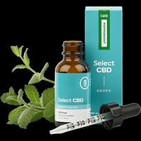feature image CBD - Drops Oil Tincture 1000mg - Peppermint