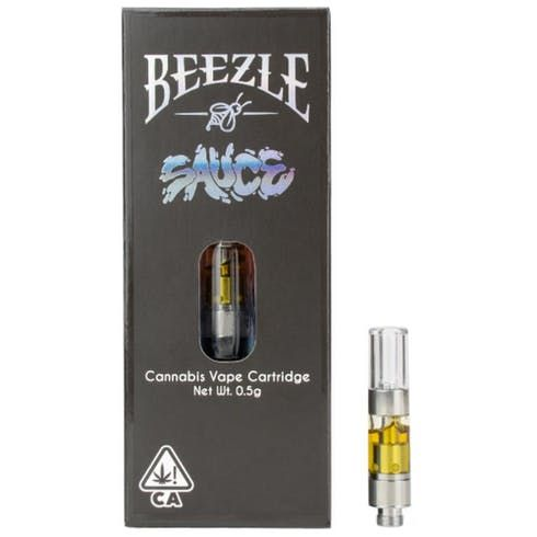 feature image BEEZLE SAUCE DURBAN COOKIES VAPE CARTRIDGE .5g