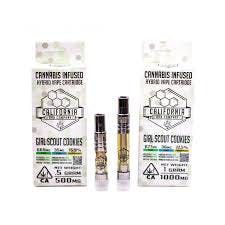 feature image CALIFORNIA DAB COMPANY GIRL SCOUT COOKIES HYBRID VAPE CARTRIDGE 1g