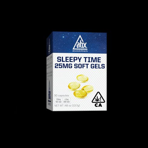 feature image ABX  25mg SLEEPYTIME SOFT GELS 30cap