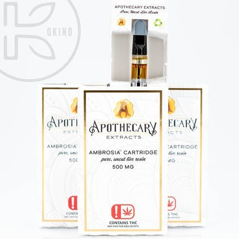 feature image Apothecary | Banana OG Ambrosia Cartridge
