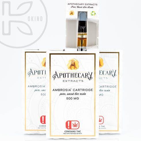 feature image Apothecary | Hazelnut Cream Ambrosia Cartridge