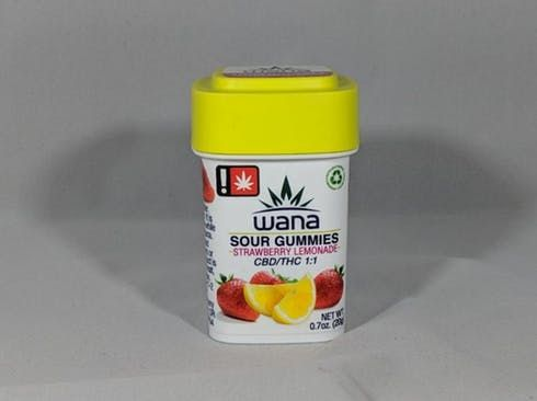 feature image 1:1 Sour Strawberry Lemonade Gummies