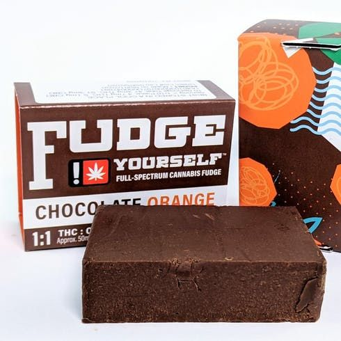 feature image  Chocolate Orange 1:1 Fudge