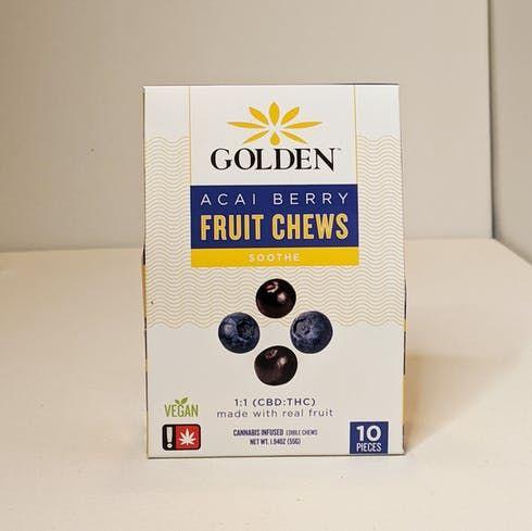 feature image 1:1 Acai Berry Fruit Chews - Golden