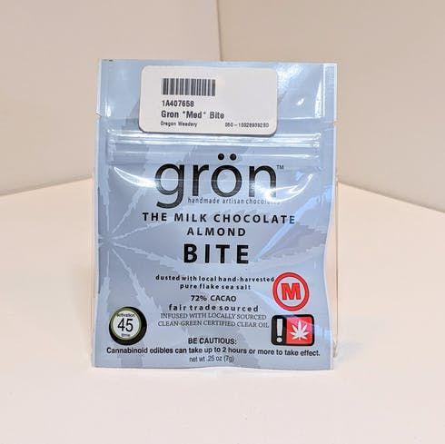 feature image *MEDICAL* Chocolate Bite  - Grön