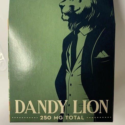 feature image  Dandy Lion 250mg Gummies (Grape)