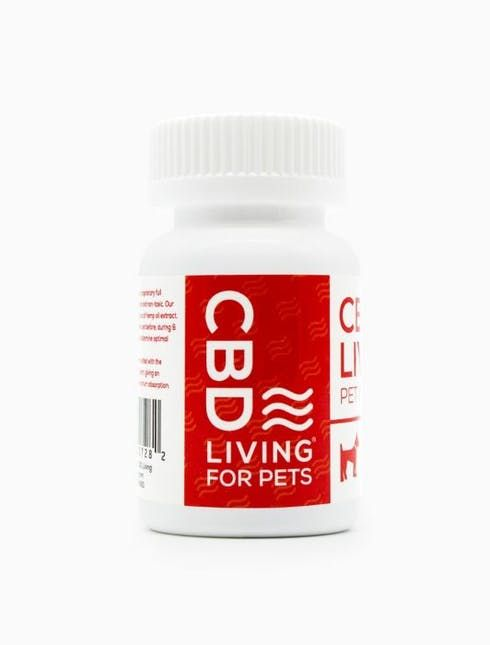 feature image CBD Living - Pet Capsules