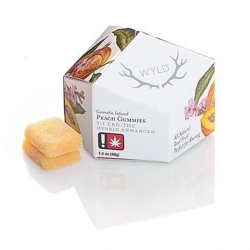 feature image 2:1 CBD Enhanced Peach Gummies 50mg