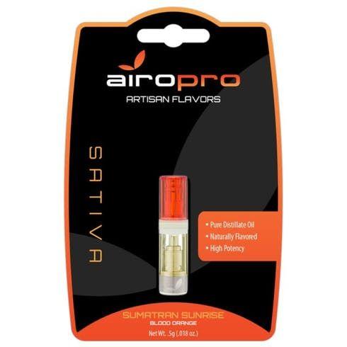 feature image Airopro Sumatran Sunrise Cartridge .5g