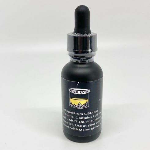 feature image 1000mg CBD Tincture(Royal River)