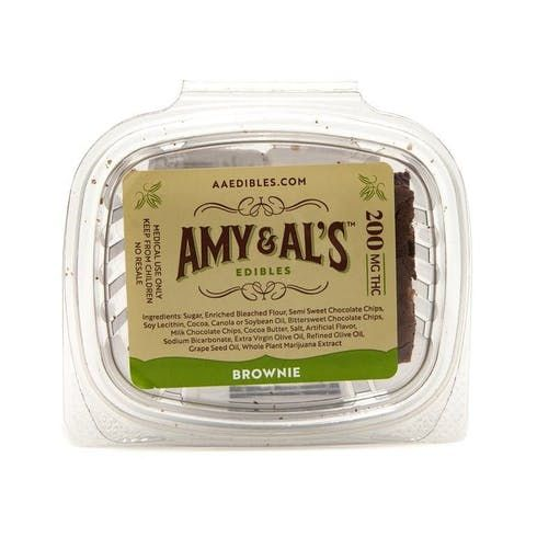feature image Amy & Al's - Chocolate Brownie 100mg