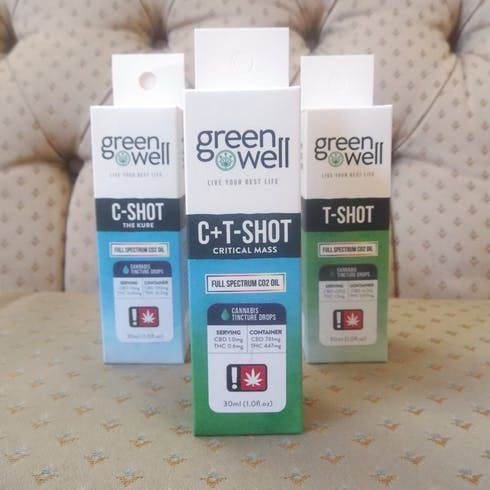 feature image C-Shot Tincture Spray - Greenwell