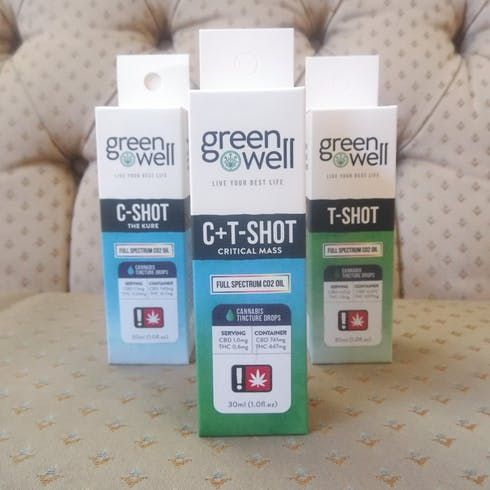 feature image C+T-Shot Tincture Spray - Greenwell