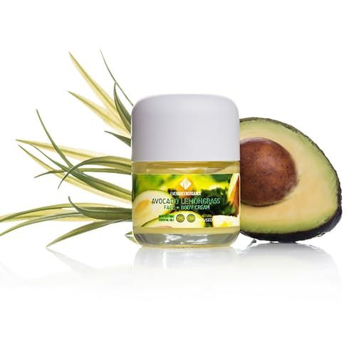 feature image Avocado Lemongrass Body Cream (Evergreen Organix)