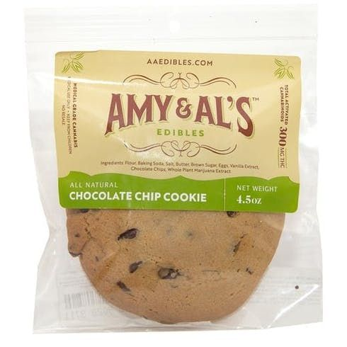 feature image Amy & Al's - Chocolate Chip Cookie - 100mg