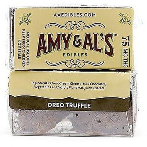 feature image Amy & Al's - Oreo Truffle - 150mg