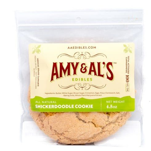 feature image Amy & Al's - Snickerdoodle Cookie