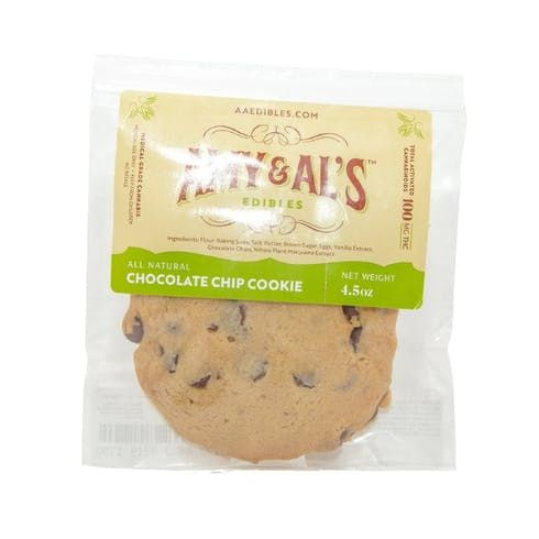 feature image Amy & Al's - Chocolate Chip Cookie 100mg
