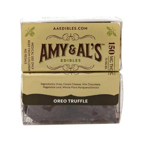 feature image Amy & Al's - Oreo Truffle 150mg