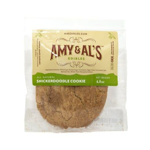feature image Amy & Al's - Snickerdoodle Cookie 100mg