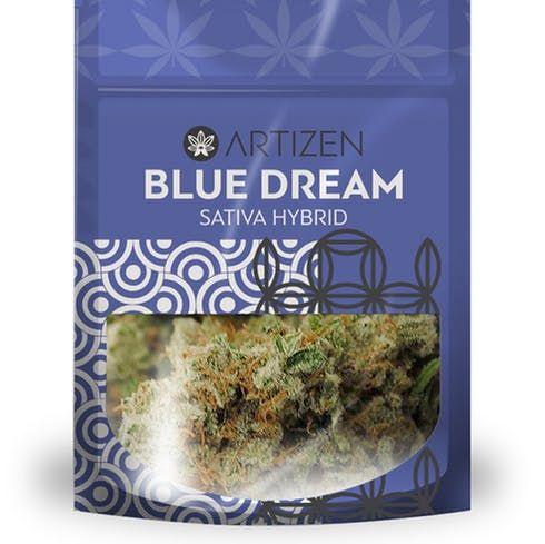 feature image Artizen Blue Dream 3.5g bag