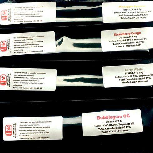 feature image 1 Gram Distillate Syringes