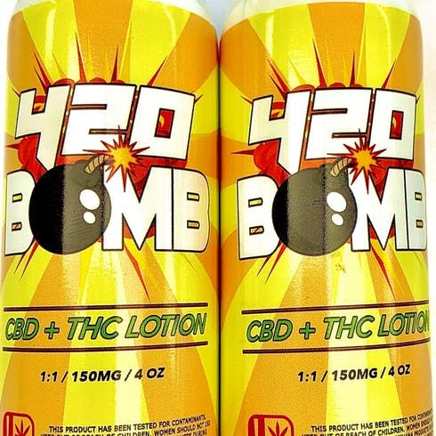 feature image 420 Bomb Lotion