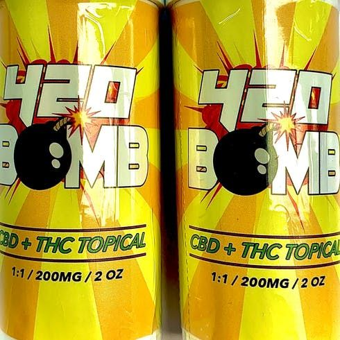 feature image 420 Bomb Topical