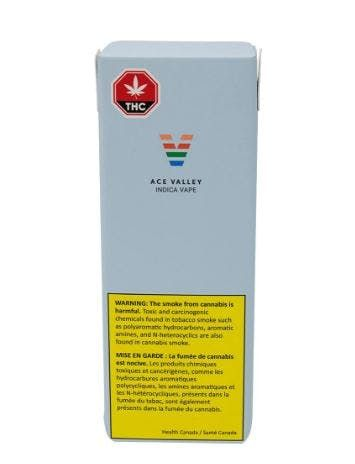 feature image Ace Valley - Indica Disposable Pen - 0.28g