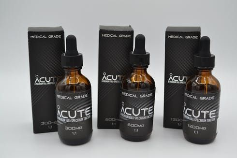 feature image 1200 mg 1:1 |Tincture 60 ML | Acute