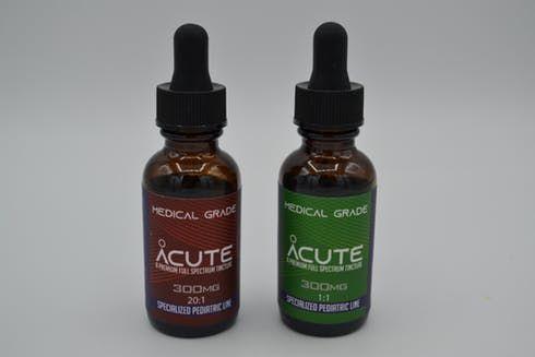 feature image 300 mg 20:1| Pediatric Tincture| Acute