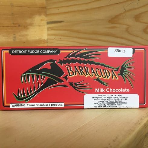 feature image AU Barracuda Milk Chocolate Bar 98mg (Adult Use)