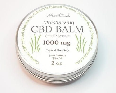 feature image 1000 mg Broad Spectrum CBD Moisturizing Balm