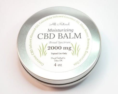 feature image 2000 mg Broad Spectrum CBD Moisturizing Balm