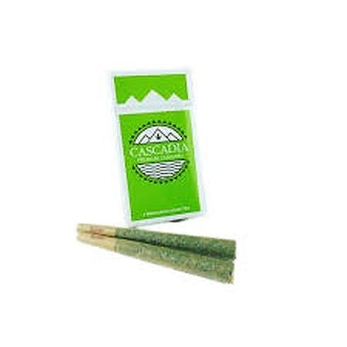 "feature image ""Grease Monkey"" 22% THC Preroll 4 Pack"