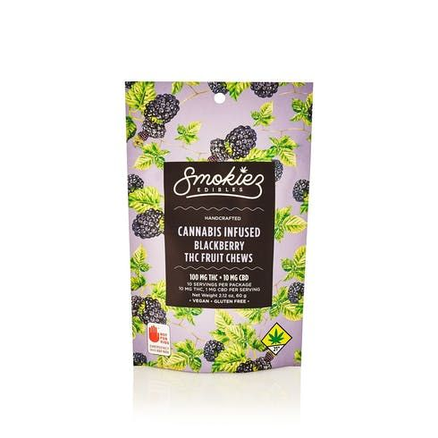 feature image Blackberry Fruit Chews - 100mg