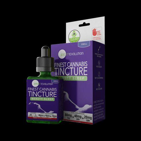 "feature image ""Beauty Sleep"" CBN Sleep Tincture by Green Revolution"