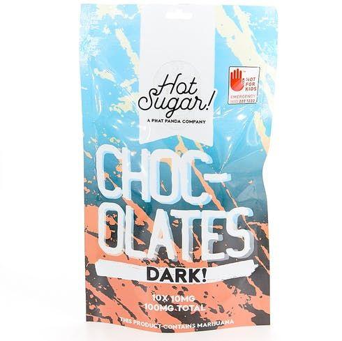 feature image  100mg (10pk) Dark Chocolate by Hot Sugar