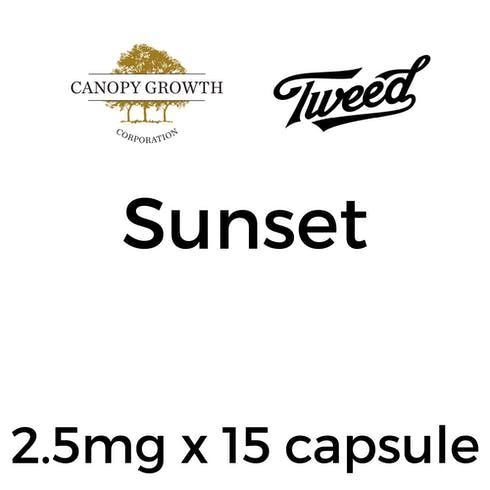 feature image ***Canopy Growth LBS Sunset Capsule - 2.5mg x 15