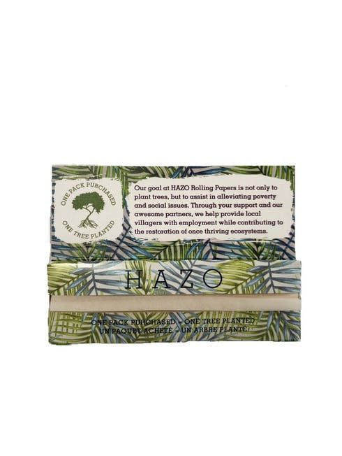 feature image ***HAZO Unbleached 100% Hemp Rolling Paper - King Size Slim
