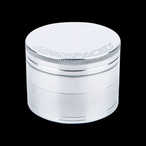 "feature image Aerospaced 2.5"" CNC Grinder 4 Piece - Silver"