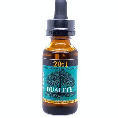 feature image 20:1 CBD:THC Tincture